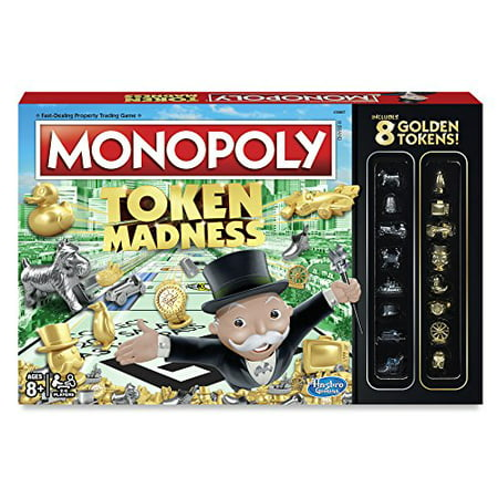 Tokens In Monopoly (Monopoly Token Madness Game )