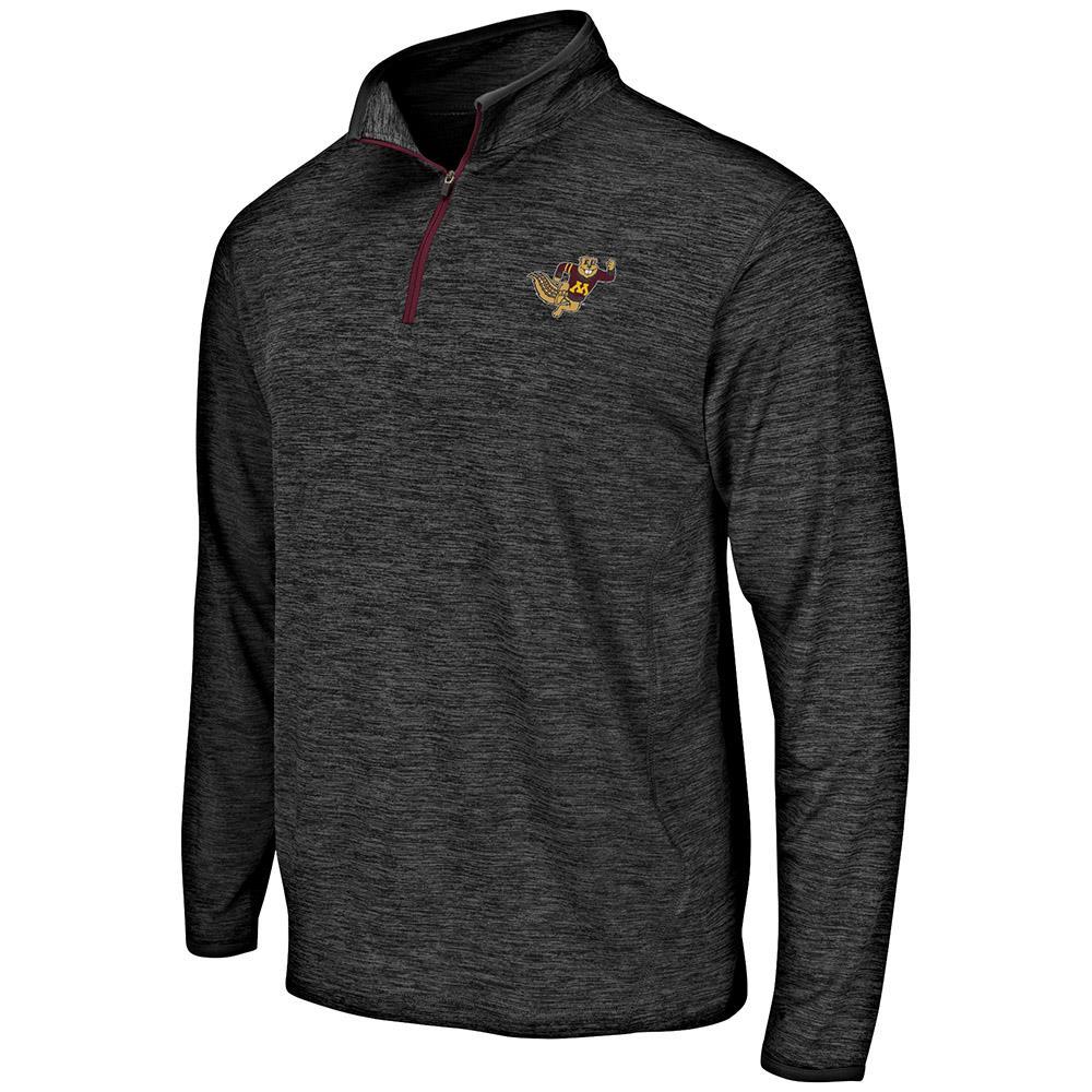 Mens Minnesota Golden Gophers Quarter Zip Windbreaker Shirt - S