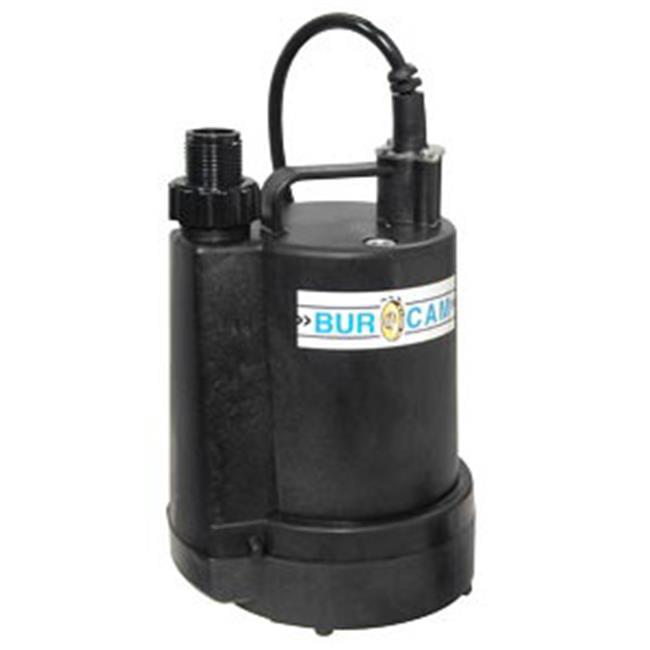 Bur-Cam Pumps 300507P Submersible Utility Pump . 25 HP- 115 V