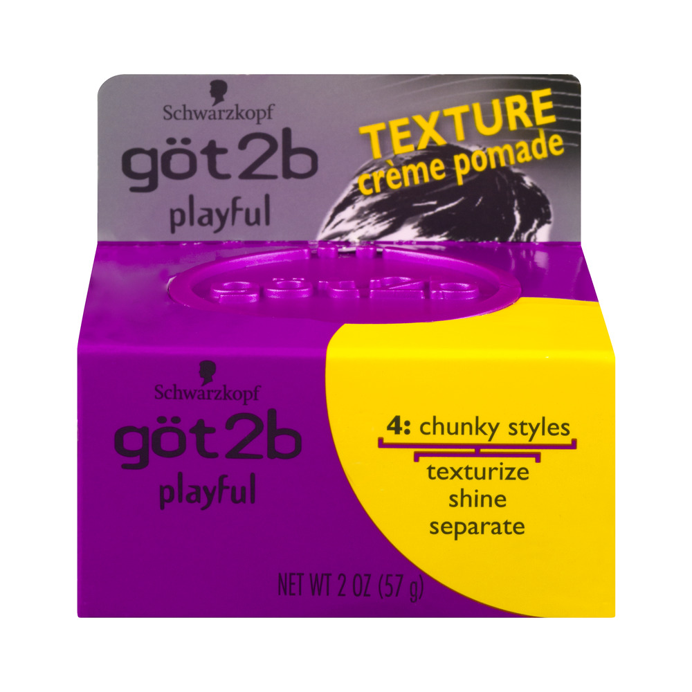 Schwarzkopf Got2B Playful Texture, 2.0 OZ