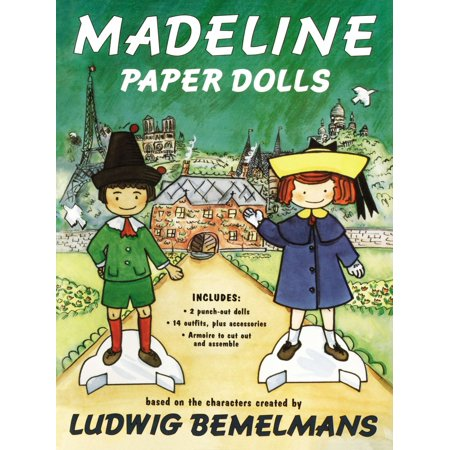 Madeline Paper Dolls - Madeline Halloween Book