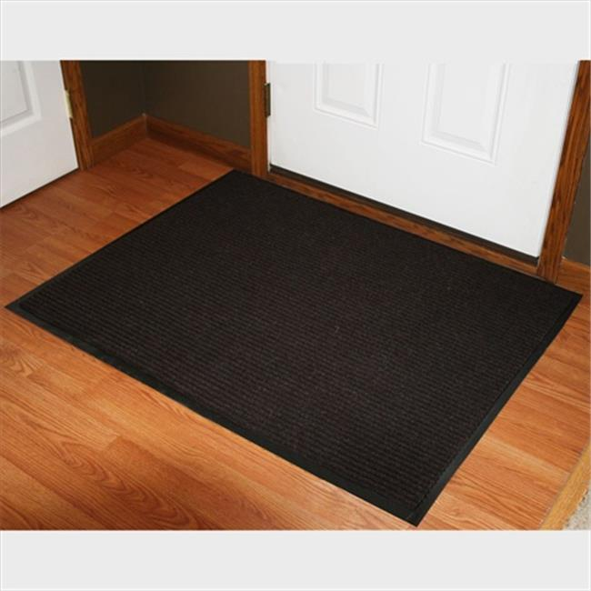 Durable Corporation 613S0034BN 3 ft. W x 4 ft. L Spectra Rib Entrance Mat in Brown