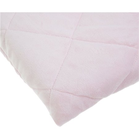 Carters Velour Playard Fitted Sheet, Pink