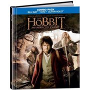 The Hobbit An Unexpected Journey Walmart Exclusive DigiBook (Blu-ray + DVD + Digital Copy)