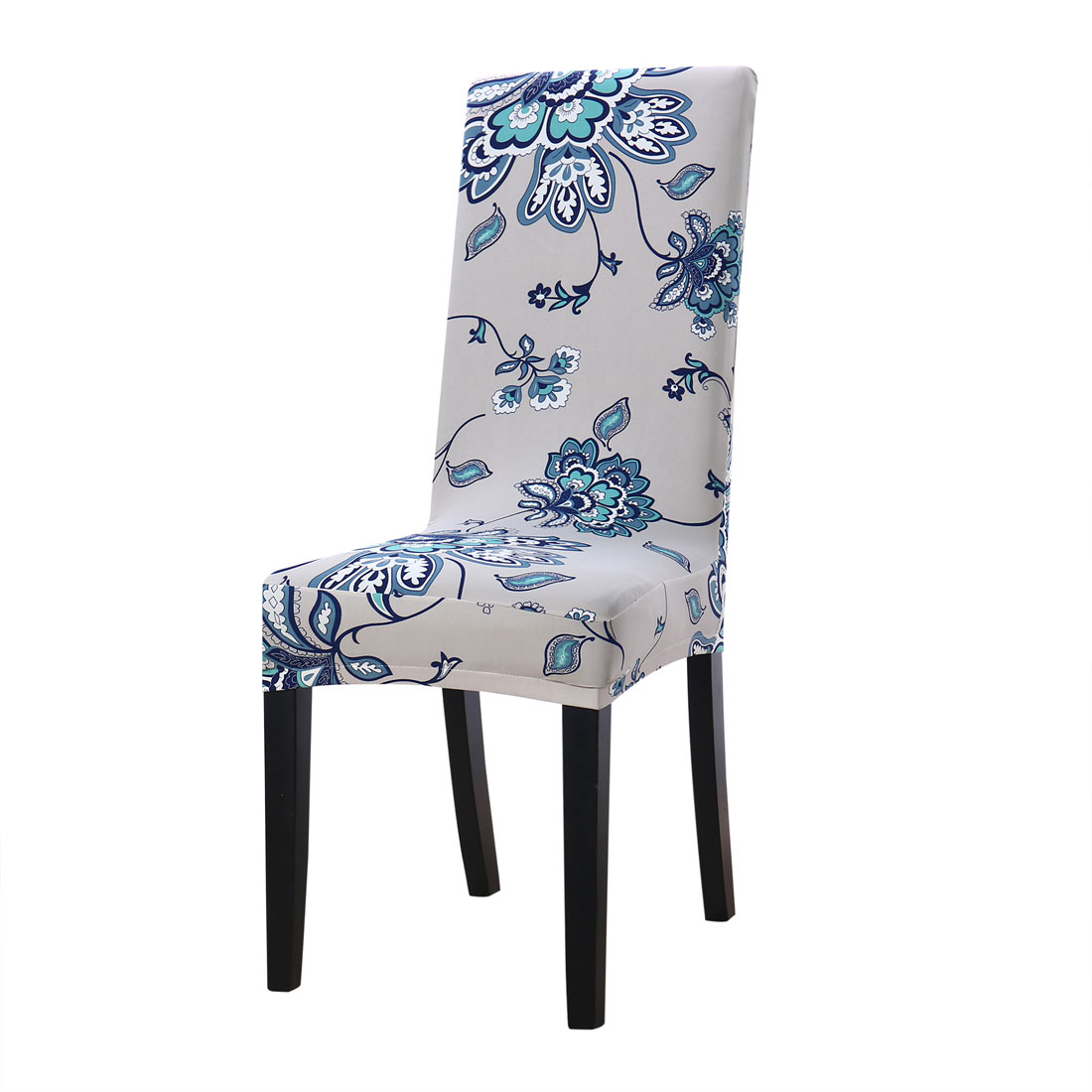 Unique Bargains Home Decor Washable Chair Covers Stretch Slipcovers Short Dining Room Stool  Cover #8