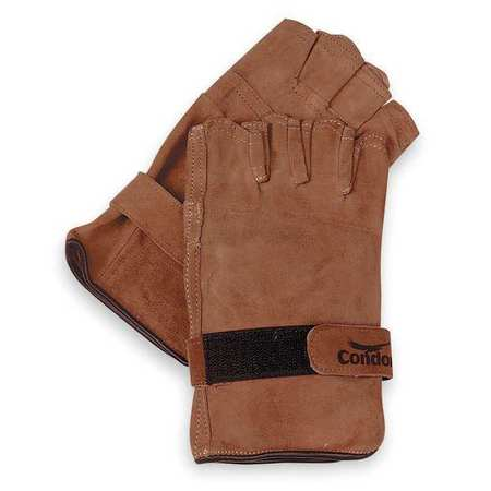 Condor 6JJ98 M Brown Leather Gloves
