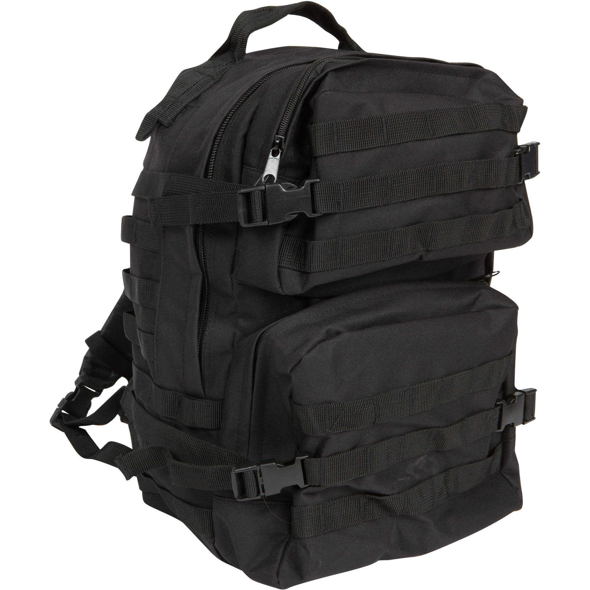Modern Warrior ACU Military Backpack, Black