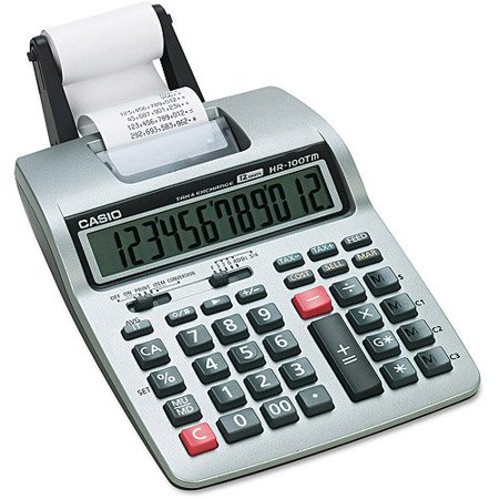12 Digit Printing Desktop Calculator By Casio