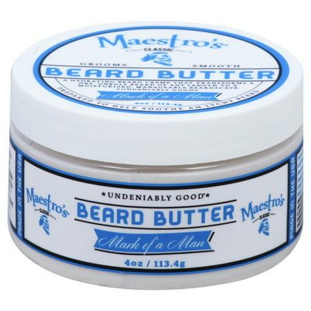 Maestros Classic Beard Butter Mark of a Man Blend - 4.0oz