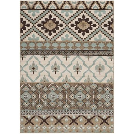 """Hawthorne Collection Creme Indoor Outdoor Rug - 4' x 5'7"""" - image 1 of 1"""