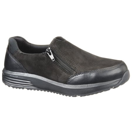 "Rockport Works 3""H Women's Work Shoes, Steel Toe Type, Black, Size 7-1/2M"