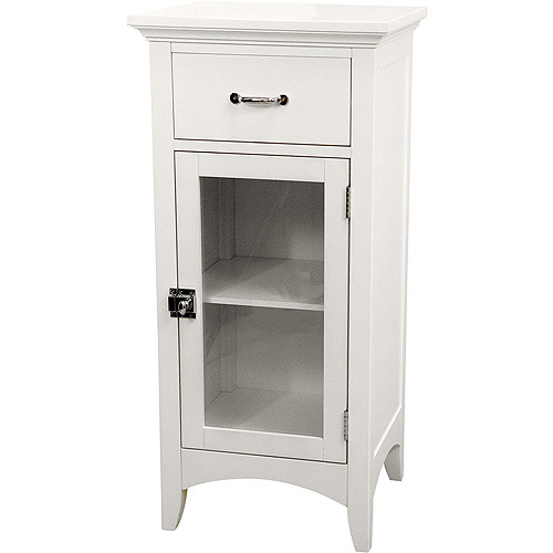 Classy Collection Floor Cabinet, White