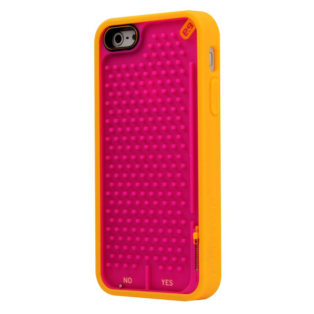 PureGear Undecided Retro Game Case for iPhone 5C (Orange & Pink)
