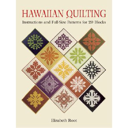 Hawaiian Quilting : Instructions and Full-Size Patterns for 20 Blocks](Pattern Block Printables Halloween)