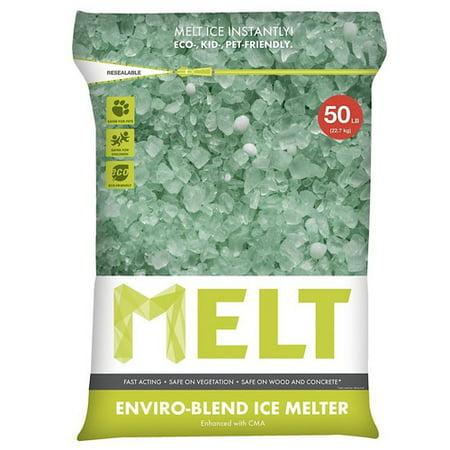 Snow Joe Melt Premium Environmentally Friendly Blend Ice Melter W  Cma  50 Lb  Resealable Bag    Melt50eb