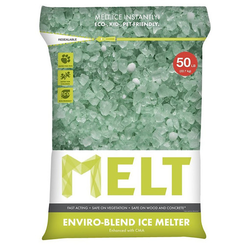 Snow Joe MELT Premium Environmentally-Friendly Blend Ice Melter w/ CMA (50 lb. Resealable Bag) ��� MELT50EB