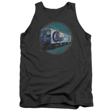 Chicago-The Rail - Adult Tank Top - Charcoal, Extra Large - image 1 de 1