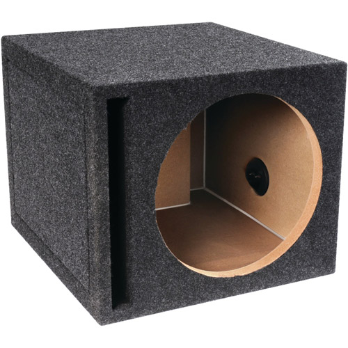 "Atrend-Bbox E10SV B Box Series 10"" Single Vented Subwoofer Enclosure"