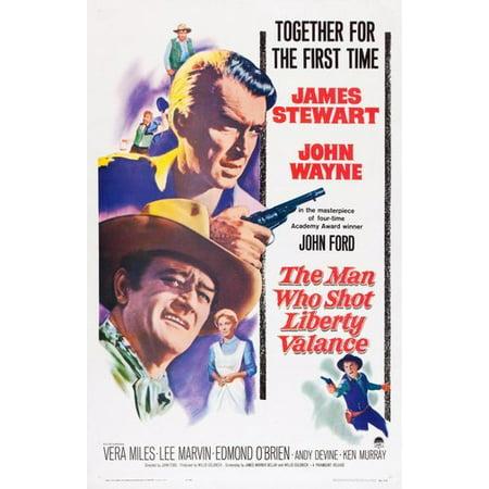 Man Who Shot Liberty Valance Movie Poster 11X17 Mini Poster