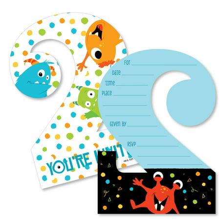 2nd Birthday Monster Bash