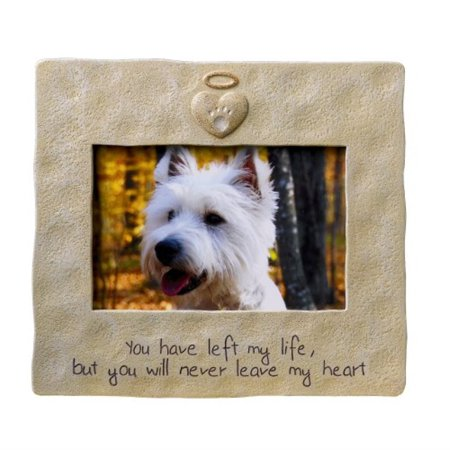 Grasslands Road Pet Memorial Picture Frame, 4 by 6-Inch