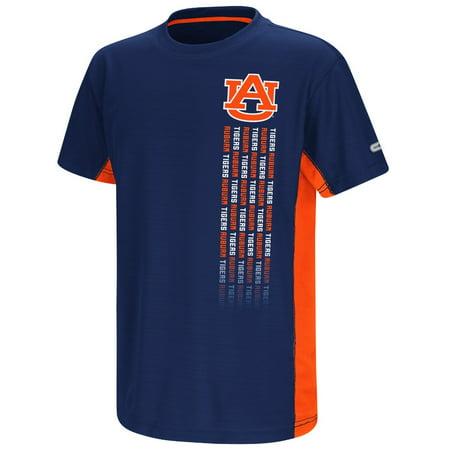 "Auburn Tigers NCAA ""Power Set"" Youth Short Sleeve Performance T-Shirt"