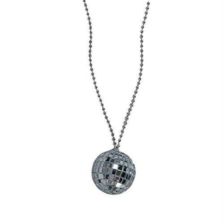 Disco Ball Necklaces (2 Inch Disco Ball Necklace)