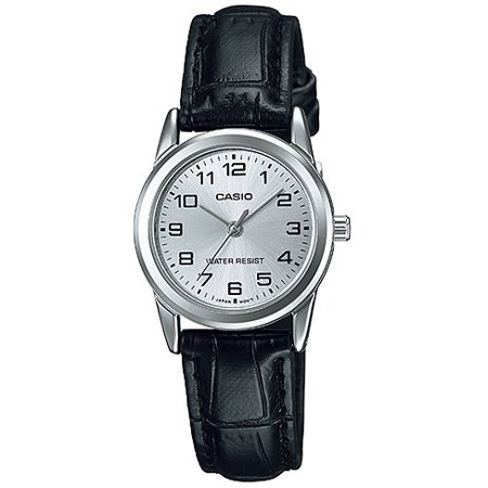 Leather Ladies Watch LTP-V001L-7B ()