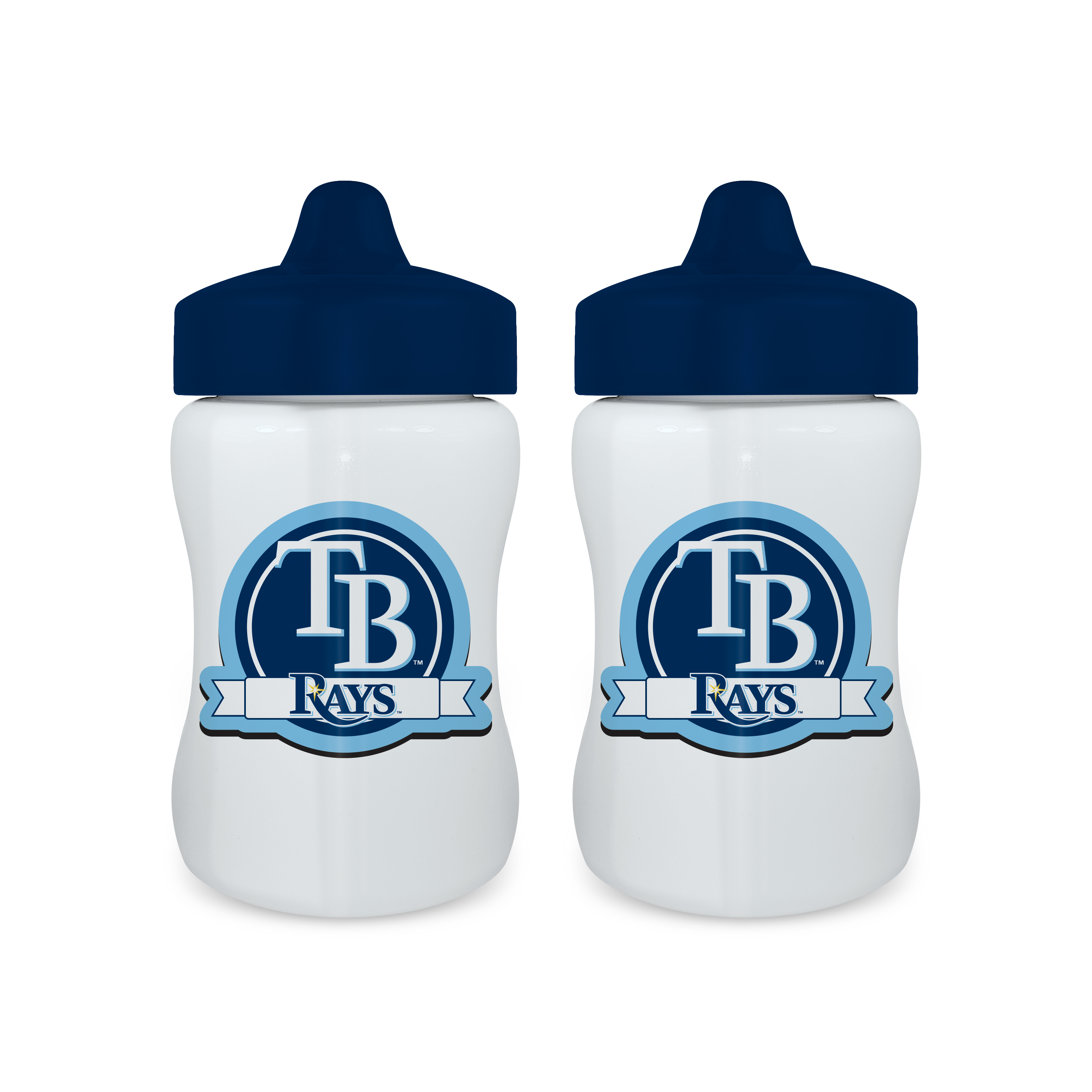 MLB Tampa Bay Rays 2-Pack Sippy Cups