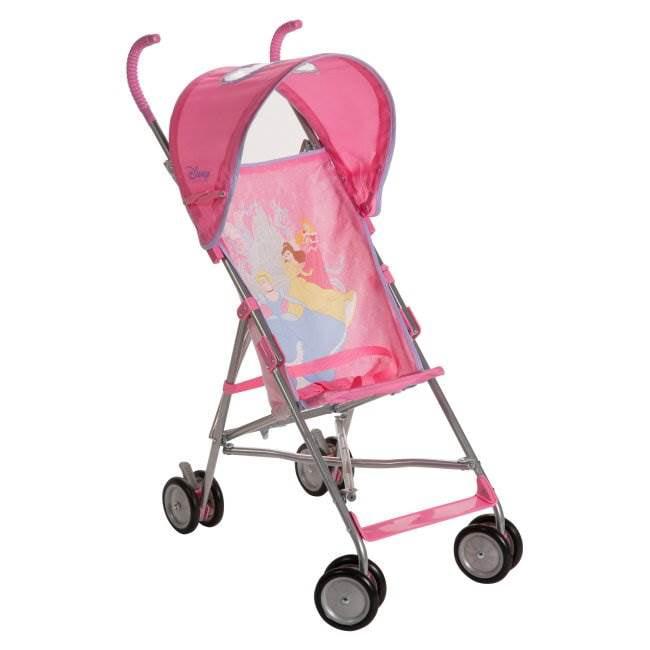 Disney Umbrella Baby Travel Stroller w/ Canopy - Princess ...