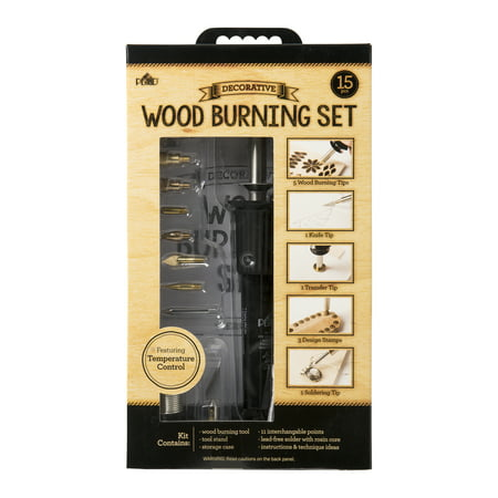 Plaid Wood Burning Tool, 15 Piece