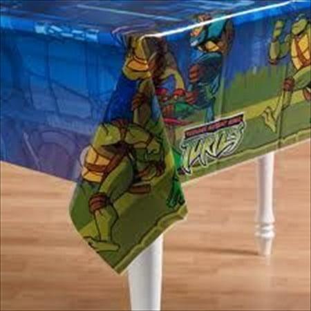 Teenage Mutant Ninja Turtles Plastic Table Cover - Plastic Ninjas