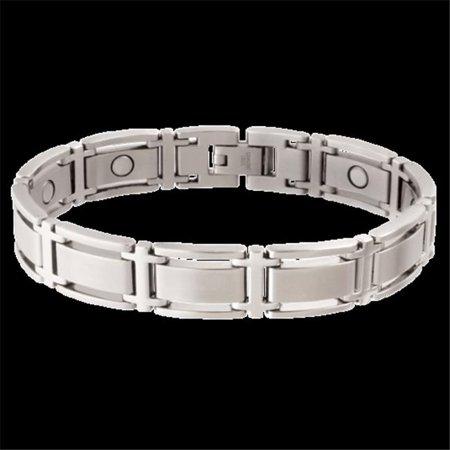 Sabona 34775 Bracelet magn-tique ex-cutif Symmetry - Argent, Grand - image 1 de 1