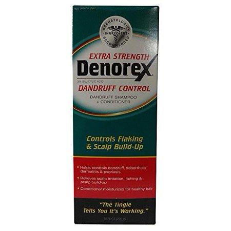 3 Pack - Denorex Extra Strength Pellicules shampooing et revitalisant 10 oz Chaque