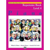 Alfred's Basic Piano Repertoire Book Level 4