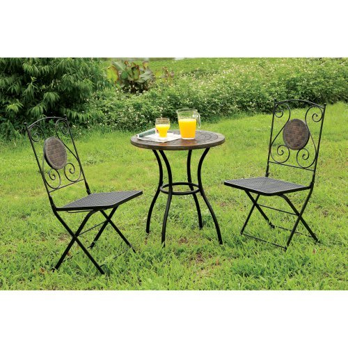 Furniture of America Corsa Bistro Patio Table