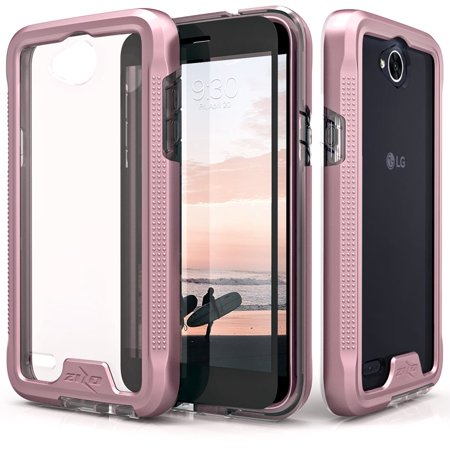 release date: acbdf 69c0c Zizo ION Series compatible with LG X Charge Case Military Grade Drop Tested  with Tempered Glass Screen Protector LG X Power 2 LV7 Case