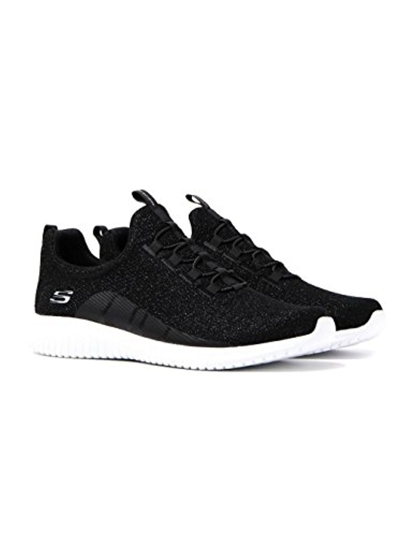 12830 Black Skechers Shoe Memory Foam Women Slip On Comfort Casual Knit Mesh New 12830BLK by Skechers
