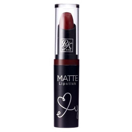 Ruby Kisses Ultra Matte Super Rich Lipstick 3.5g/0.12oz (RMLS08 VAMPIRE RED)