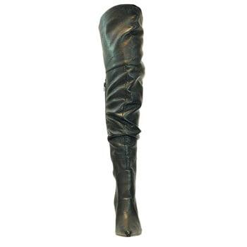 RAMPAGE-11, 4'' Thigh High Scrunch Boot
