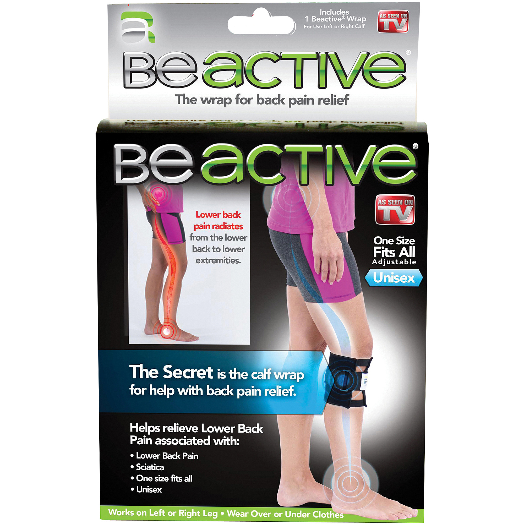 As Seen on TV Be Active Pressure Point Wrap