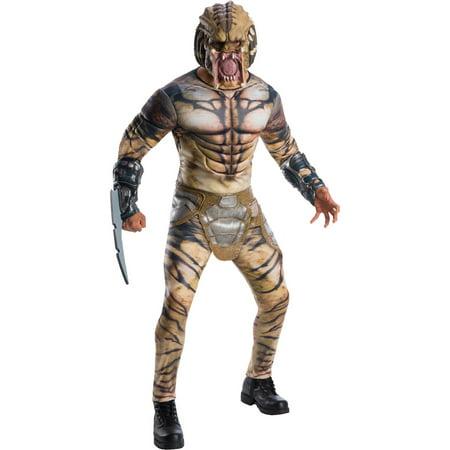 Predator Deluxe Mens Costume - Predator Costume Australia