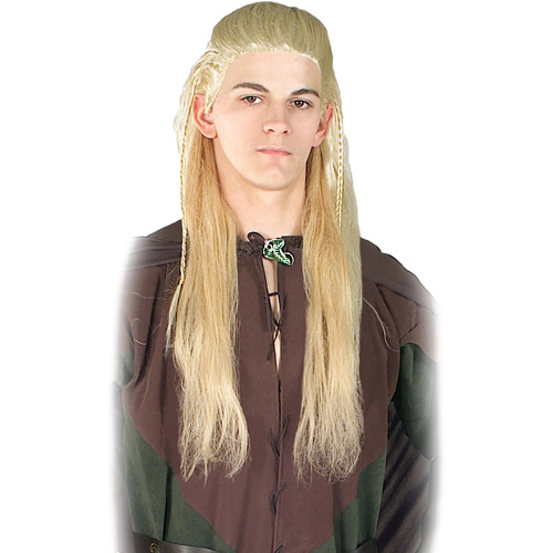 Lord of the Rings Adult Legolas Halloween Wig