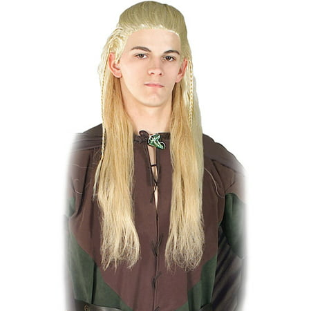 Lord of the Rings Adult Legolas Halloween (Men's Horse Lord Warrior Wig)