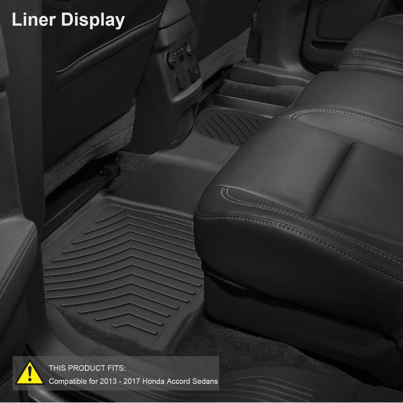 Car Floor Mats,3PCS Front & Rear TPE
