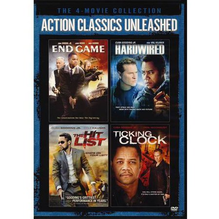 The 4 Movie Collection   Action Classics Unleashed  End Game   Hardwired   The Hit List   Ticking Clock  Widescreen