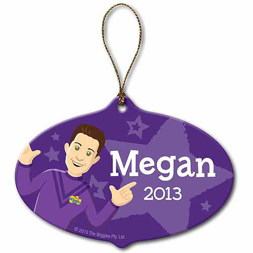 Personalized The Wiggles Lachy Ornament