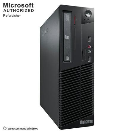 Refurbished Lenovo M79 SFF, AMD A4-6300B 3.7GHz, 8GB DDR3, Brand New 120GB SSD, DVD, WIFI, Bluetooth 4.0, HDMI, USB 3.0, VGA, DisPlay Port, Windows 10 Home 64
