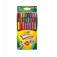 Crayola Twistables Non-Toxic Crayon, Set, 24