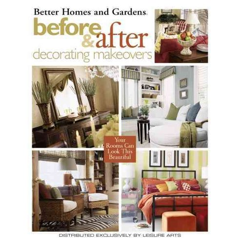 better homes and gardens before amp after decorating